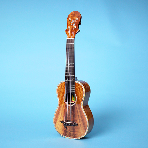 Big Island Koa Solid Premium curly Soprano XXX Gloss Finish